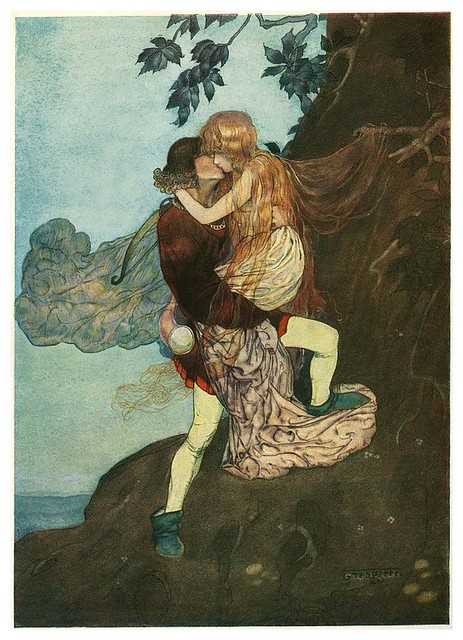 003-Grimm's Fairytale Treasure-1923- Illust. Gustaf Tenggren-via Animation Resources