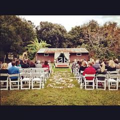 Beautiful farm wedding! #weddingphotographer #photographer #floridaphotographer #mcdonaldfarm