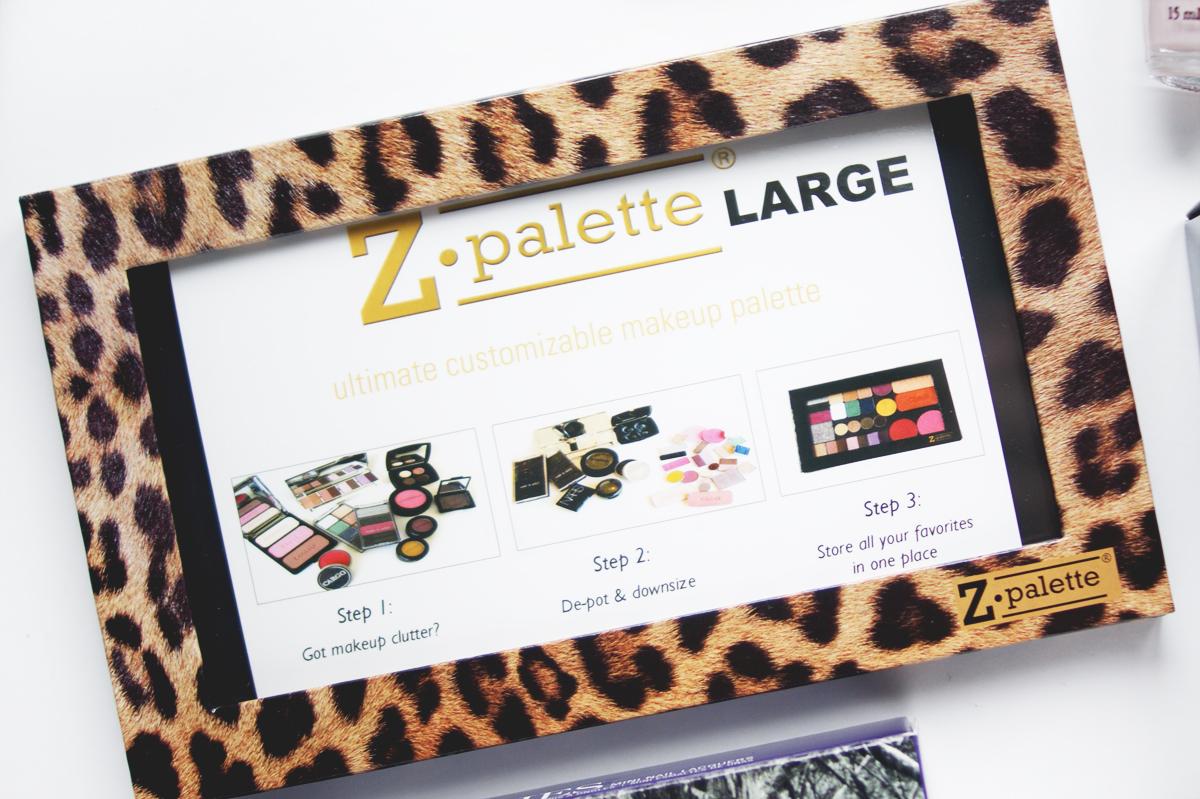 IMATS Toronto makeup beauty haul 2014 zpalette z palette large leopard print