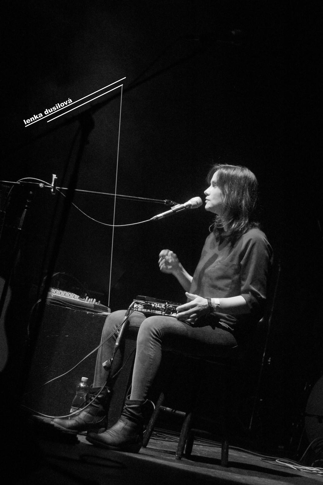 Lenka Dusilová a Baromantika @ Divadlo Archa, 2. 11. 2014