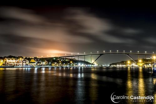 Anna Bay and Juliana bridge