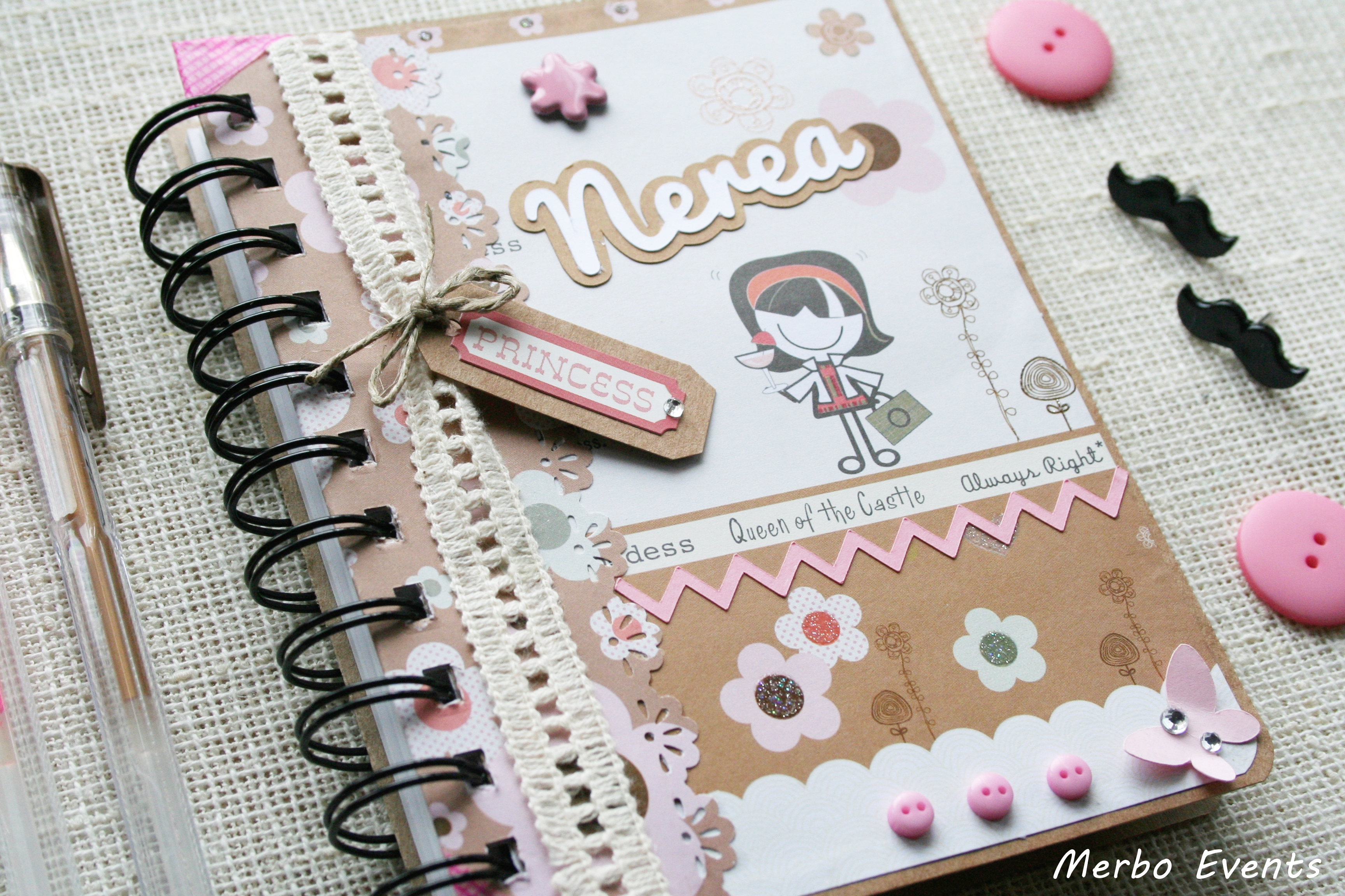 Libreta modelo 1 Merbo Events
