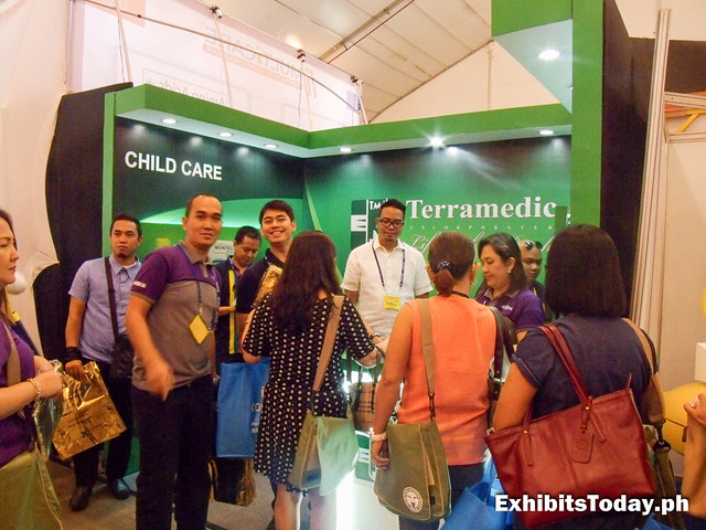 Terramedic Exhibit Booth