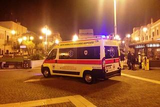 Torre a Mare. Ambulanza Piazza del Porto front
