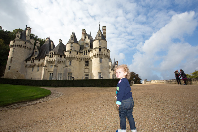 Bella at Chateau d'Usse