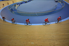 London, The Olympic Velodrome, 15-11-2014