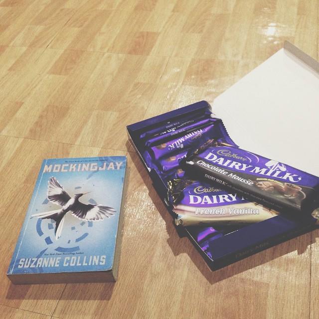 cadbury dairy milk and hunger games mockingjay