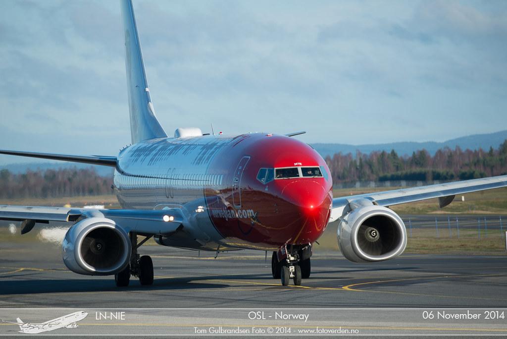 LN-NIE - B738 - Norwegian