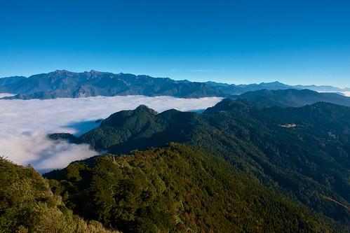 玉山、南二段諸峰:大塔山雲海- 33