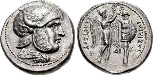 Lot 129 Seleukos I Nikator Tetradrachm