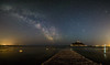 St Michaels Mount Milky Way Panorama