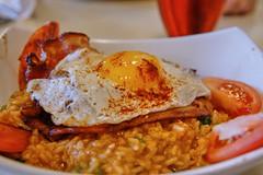 Bacon & Egg Risotto