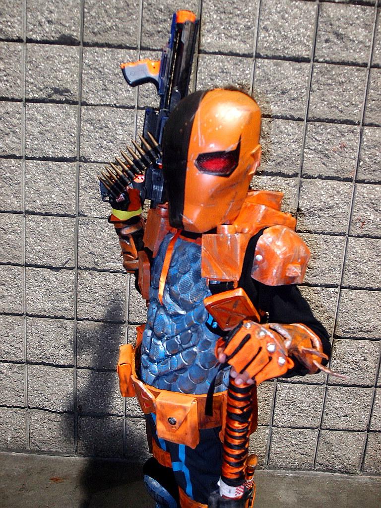 Kid Danger As Deathstroke Cosplay At Long Beach Comic Con Flickr