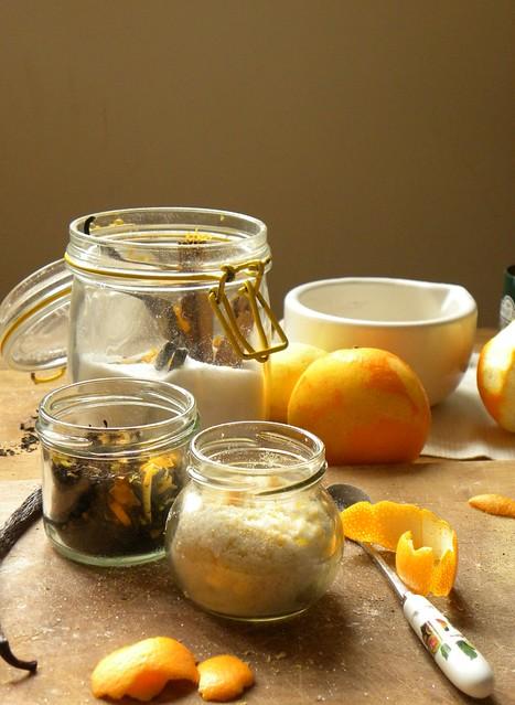 regali di natale homemade: té e zucchero aromatizzati