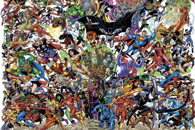 超級英雄的夢幻對決!MARVEL VS DC 聯名漫畫介紹