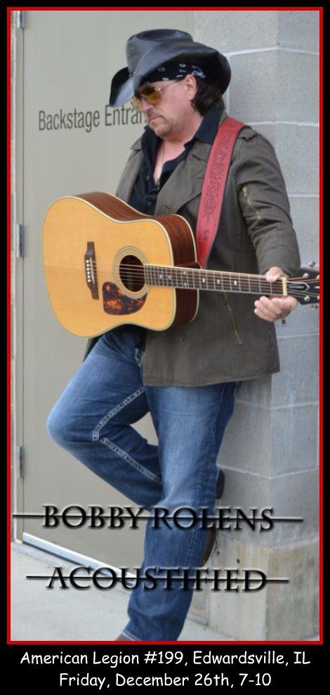 Bobby Rolens Acoustified 12-26-14