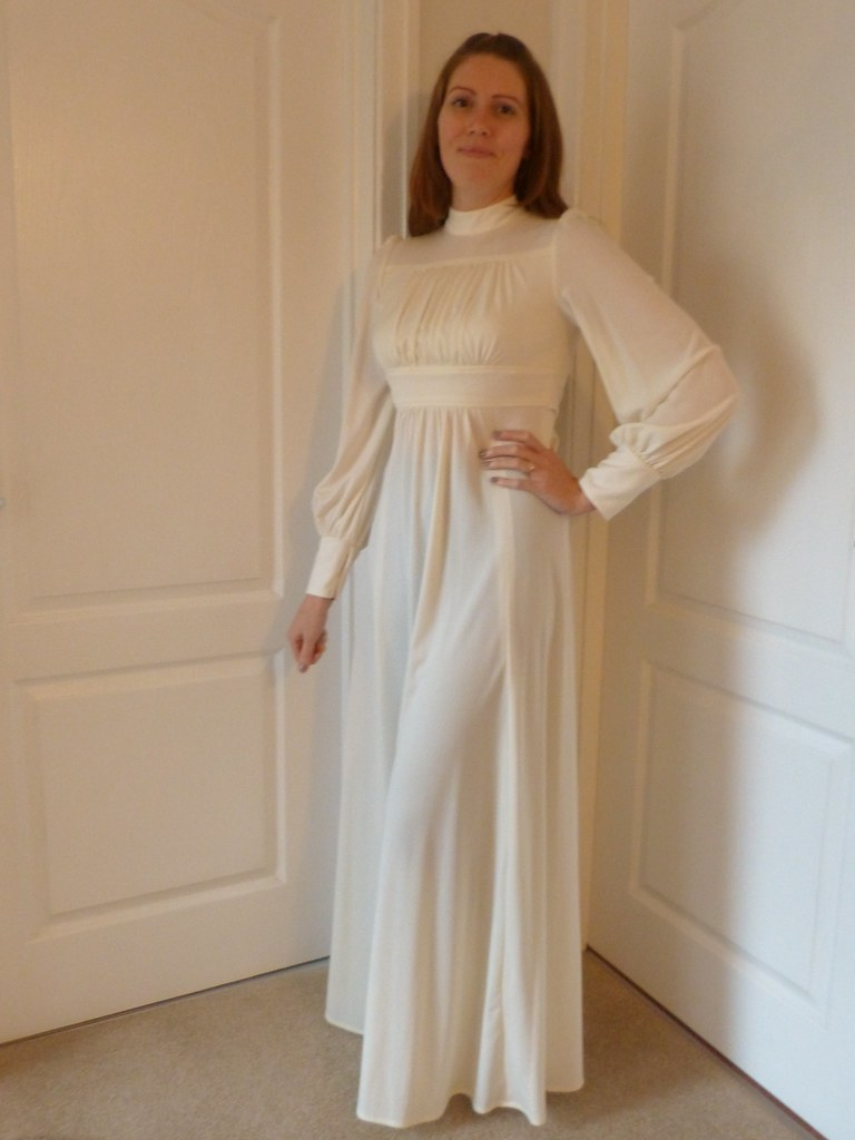 My Mother's 1977 Wedding Dress