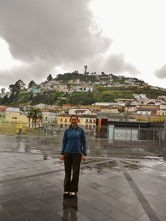 Near Quito's Museum of Modern Art