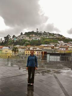 Near Quito's Museum of Modern Art