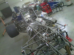 Belfab Racing supermodified chassis