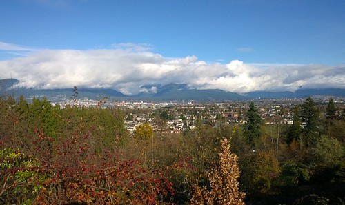 Late autumn view from Queen Elizabeth Park
