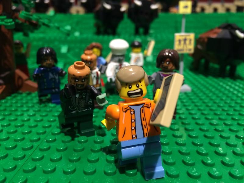 """""""Hit The Bricks"""" Lego Exhibit"""