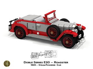 Doble E-Series E20 Roadster - 1925
