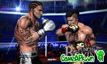 Punch Boxing 3D v1.0.3 hack full vàng cho Android