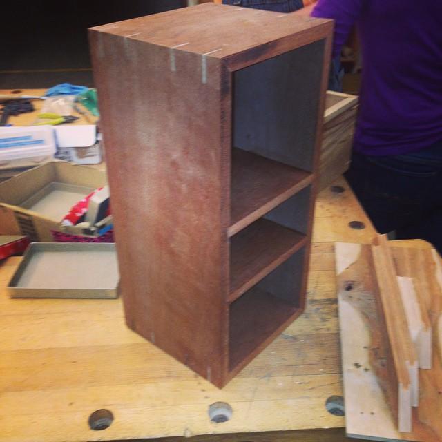 I made a box!