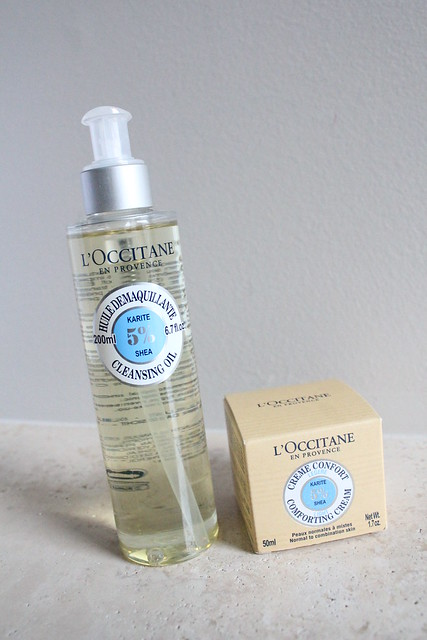 L'Occitane Shea Butter Cleansing oil review