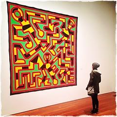 Keith Haring w/ @leiavision.