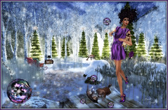 Delights At Christmas Pond