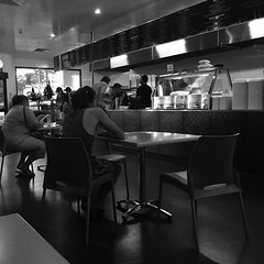 Grabbing some dinner. #pizza #Dubbo #ginaspizza #blackandwhite #nofilter #fastfood