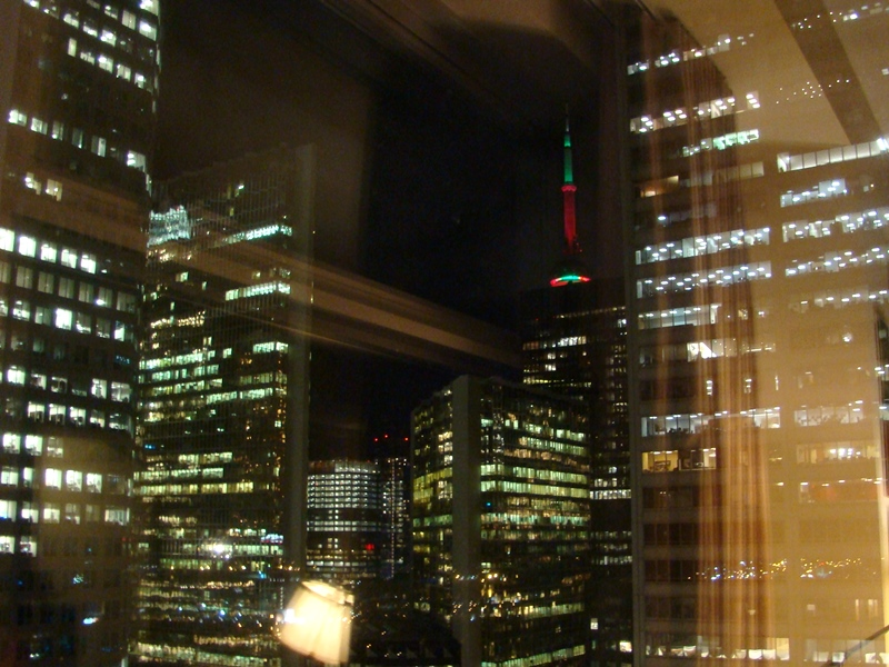 CN Tower Christmas