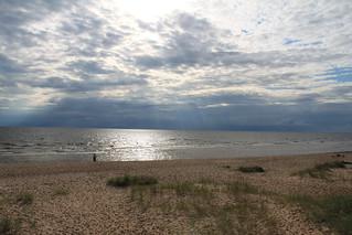 Sandy Beach in Latvia