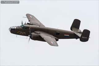 North American B-25 Mitchell 'Sarinah'  PH-XXV / N320SQ | by Ian Garfield - thanks for over 2 million views!