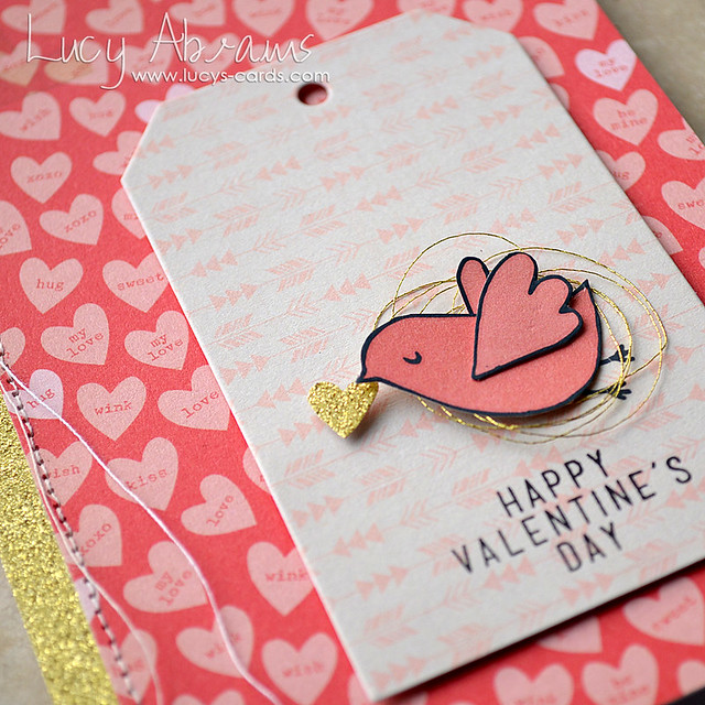 Valentine's Bird 2 by Lucy Abrams