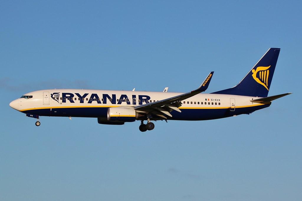 EI-EVX - B738 - Ryanair