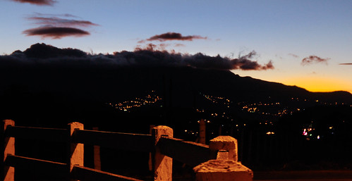 sunset night landscape noche paisaje atardeser