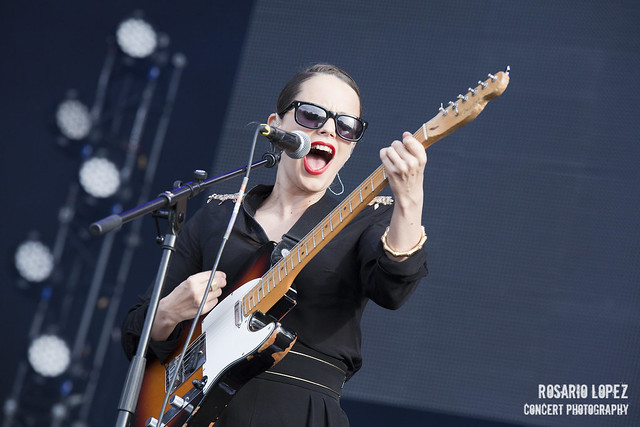 Anna Calvi at DCode Festival 2014