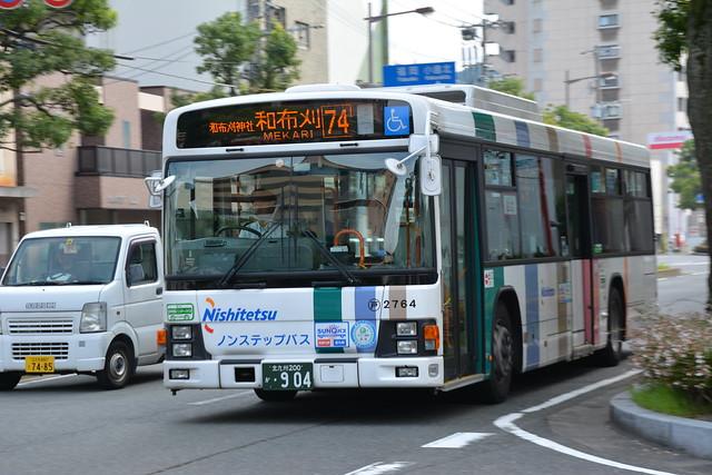西鉄バス-和布刈行き