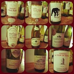 Nine French Wines #photogrid