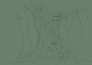 Day 6 - Treehouse step 1