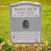 Mamie Smith headstone, Frederick Douglass Memorial Park, Staten Island, NY by Eric K. Washington