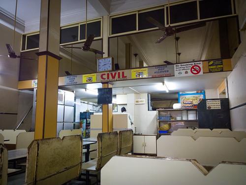 inside of Civil Restaurant @ Mumbai