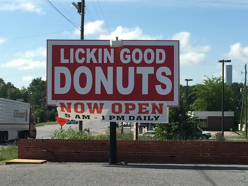 Day 10: Childersburg, AL (Lickin Good Donuts)