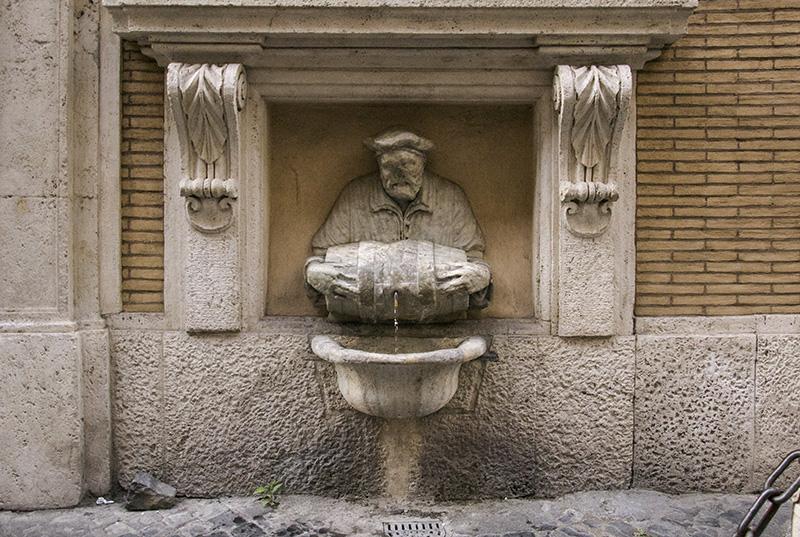 Rome Statua Parlante