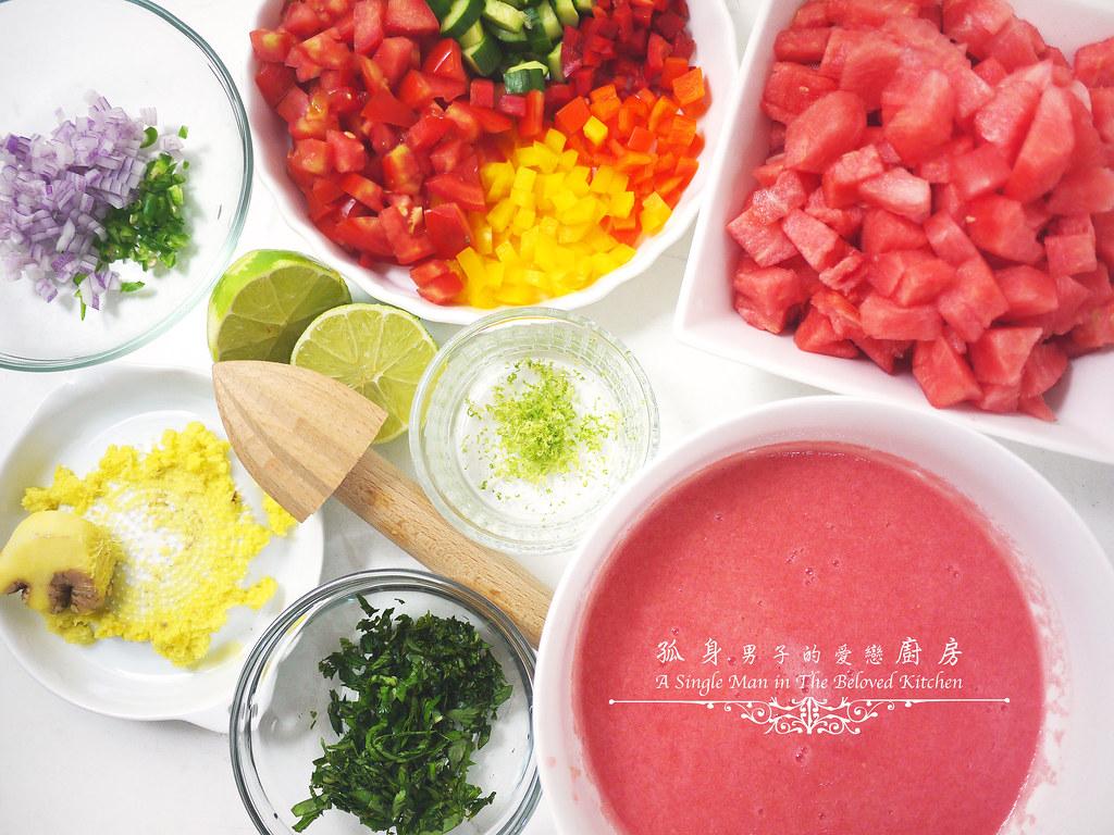孤身廚房-西班牙西瓜冷湯6