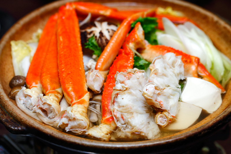 Snow Crab Seafood Nabe