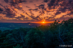Sunset at Gambrill State Park, Maryland (USA) - Sep 2016